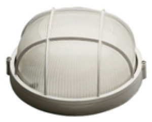 Светильник круглый НПП-03 100 Вт с решеткой
