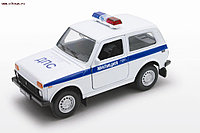 1/34 Welly LADA 4x4 Милиция ДПС