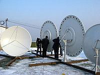 Установка комплектов спутникового оборудования