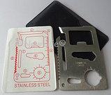 Многофункциональный, карманный нож - банковская карта., фото 2