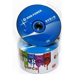 Диск DVD+R 16x4.7 Gb 120 мин MRM-POWER