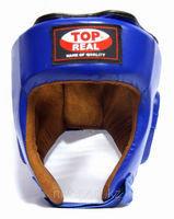 Шлем боксерский Top Real кожа, фото 2
