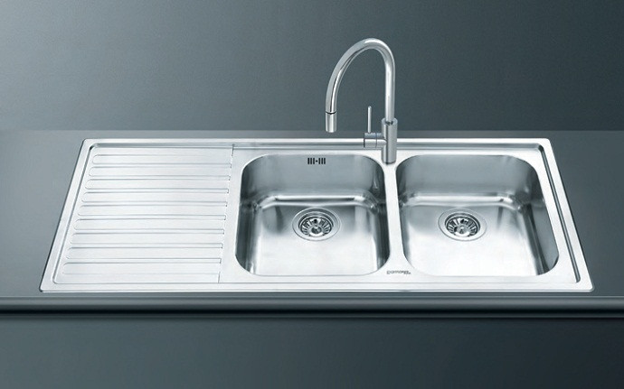 Кухонная мойка Smeg LM116S