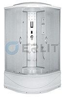 Душевая кабина Erlit  ER4510TP-C3 1000*1000*2150 высокий поддон, светлое стекло