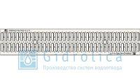 Решетка штампованная стальная оцинкованная DN150, фото 1