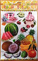 """Декоративные наклейки для кухни """"Десерт"""" 5D, фото 1"""