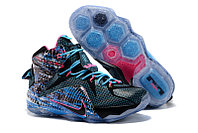 Кроссовки Nike LeBron XII (12) Blue Black Purple (40-46), фото 1