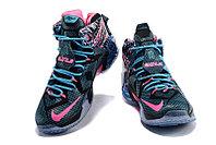 Кроссовки Nike LeBron XII (12) Blue Black Purple (40-46), фото 4