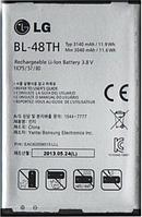 Заводской аккумулятор для LG Optimus G E977 (BL-48TH, 3140mAh)