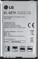 Заводской аккумулятор для LG G Pro Lite Dual D686 (BL-48TH, 3140mAh)