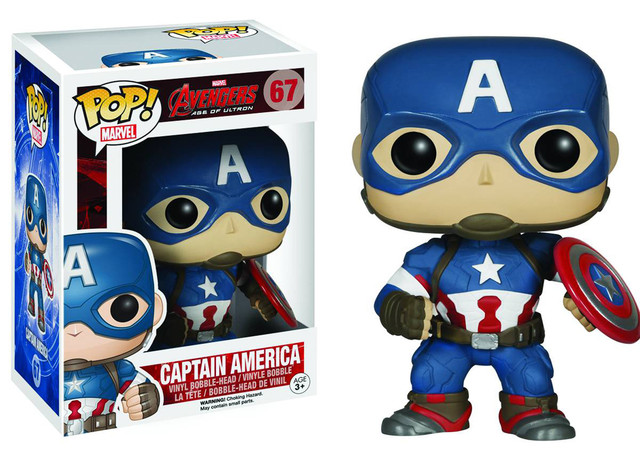 "Фигурка ""Мстители – Капитан Америка"" (Marvel Avengers: Age of Ultron – Captain America Pop! Vinyl Figure)"