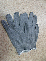 Перчатки х/б серые