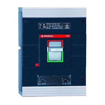 Автоматические выключатели в литом корпусе( 3P 63A 20KA)Federal (Турция)