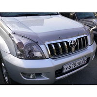 Мухобойка (дефлектор капота) Toyota Land Cruiser Prado 120 2003-2009