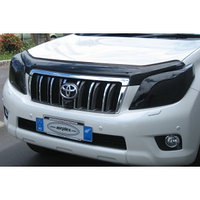 Защита фар Toyota Land Cruiser Prado  150  2010-2013 тёмная