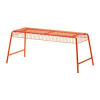 Скамья д/дома/сада ВЭСТЕРОН оранжевый ИКЕА, IKEA