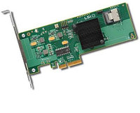 Adaptec ASR-6805E (PCI-E v2 x4, LP) KIT SAS 6G, RAID 0,1,10,1E, 8port(int2*SFF8087), 128Mb onboard