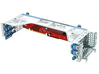 HP Secondary 3 Slot GPU Ready Riser Kit for DL380 Gen9 (Slot2: 2xGen3 x16 FH/FL, 1xGen3 x8 FH/HL) (719073-B21)
