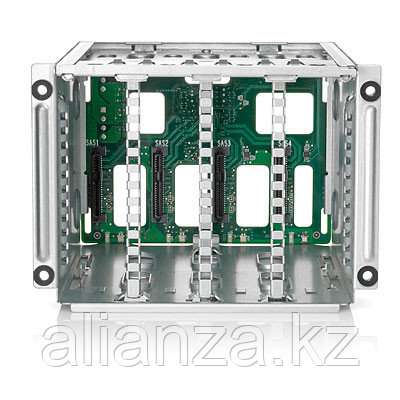 HP 2SFF SAS/SATA HDD Cage in Front/Rear Kit for DL380 Gen9 (in the rear is only supported with a 24SFF or 12LFF, For 2SFF front req 724865-B21)