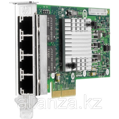 HP NC365T PCIe2.0 (x4) 4-Port Gigabit Server Adapter, 10/100/1000 (incl. low-profile bracket) repl 538696-B21 (593722-B21)
