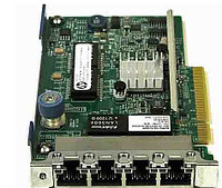 HP FlexibleLOM Adapter, 366FLR , Intel, 4x1Gb, for Gen8 (665240-B21)