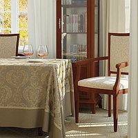 Портьерная ткань шинил для штор, с узором