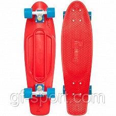 "Пенни борд 22 ""Penny board""(красный)"