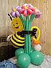Малыш на выписку фигуры из шаров в Павлодаре
