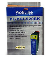 PGI-520 BK Profi 19ml for Canon PIXMA MP540/620/640/630/980/iP3600/4600 L0202353