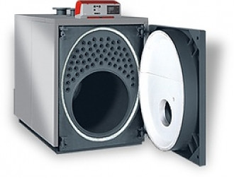 Unical модель Ellprex 970 кВт, котел отопления водогрейный на дизельном и газовом топливе пр-во Италия