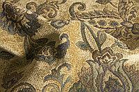 Обивочная ткань жаккард восточный цветочный узор