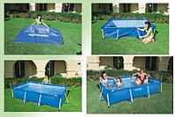 Каркасный сборный бассейн Intex Rectangular Frame Pool  300 х 200 х 75 см.