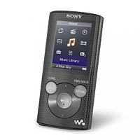 "MP3 плеер Sony NWZ-E384 TFT 1.77"", mp3, WMA, JPEG, WMV 9, 8Gb Black"