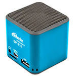 MP3 плеер + спикер Ritmix SP-210 / MP3/WMA / USB / mSD / LiIon / USB power / blue