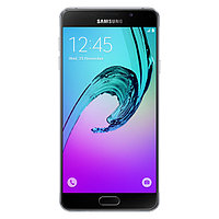 "Смартфон Samsung Galaxy A7 Duos (A710F) 16Gb LTE Black  Android 5.1, поддержка двух SIM-карт, экран 5.5"", разрешение 1920x1080, камера 13 МП,"