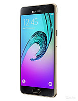 "Смартфон Samsung Galaxy A7 Duos (A710F) 16Gb LTE Gold  Android 5.1, поддержка двух SIM-карт, экран 5.5"", разрешение 1920x1080, камера 13 МП,"