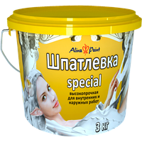 Готовая шпатлевка Special Alina Paint