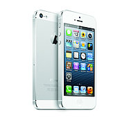 Смартфон Apple iPhone 5 32Gb, GSM 900/1800/1900, 3G, LTE, iOS 6, 8Mpx, Nano-SIM, алюминий и стекло, White