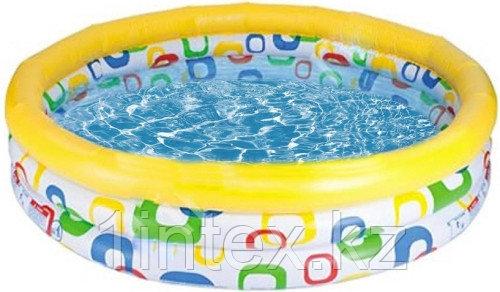 Детский надувной бассейн Intex Геометрия