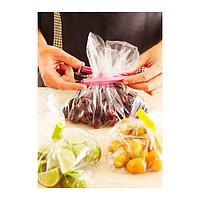 БЕВАРА Зажим для пакетов,30 штук, разные цвета, различные размеры