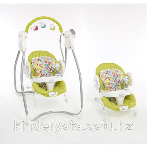 Качеля 2  в 1 Swing & Bounce GRACO