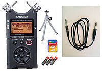 Аудио рекордер tascam dr-40 +аксессуары и +2GB SD карта памяти, фото 1