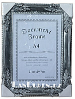 "Рамка для документов А4 ""Document Frame"" (для фотографий серая)"