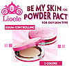 Компактная пудра Lioele Be My Skin Powder Pact (All Skin Type)