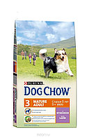 Сухой корм для собак старше 5 лет Dog Chow Mature Lamb с ягненком