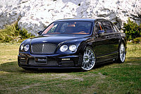 Оригинальный обвес WALD Black Bison Edition '08-09 на Bentley Flying Spur
