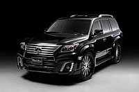 Обвес WALD Black Bison 2013 на Lexus LX570 (Рестайлинг), фото 1