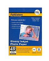 Фотобумага Fullcolors (luster) RC, 13x18, 50 листов, микропористая, на резиновой основе, плотность 200г\м