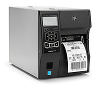 "TT Printer ZT410; 4"", 203 dpi, Euro and UK cord, Serial, USB, 10/100 Ethernet, Bluetooth 2.1/MFi, USB Host, EZ"