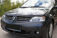 Реснички на фары  Renault Logan 2004-2013
